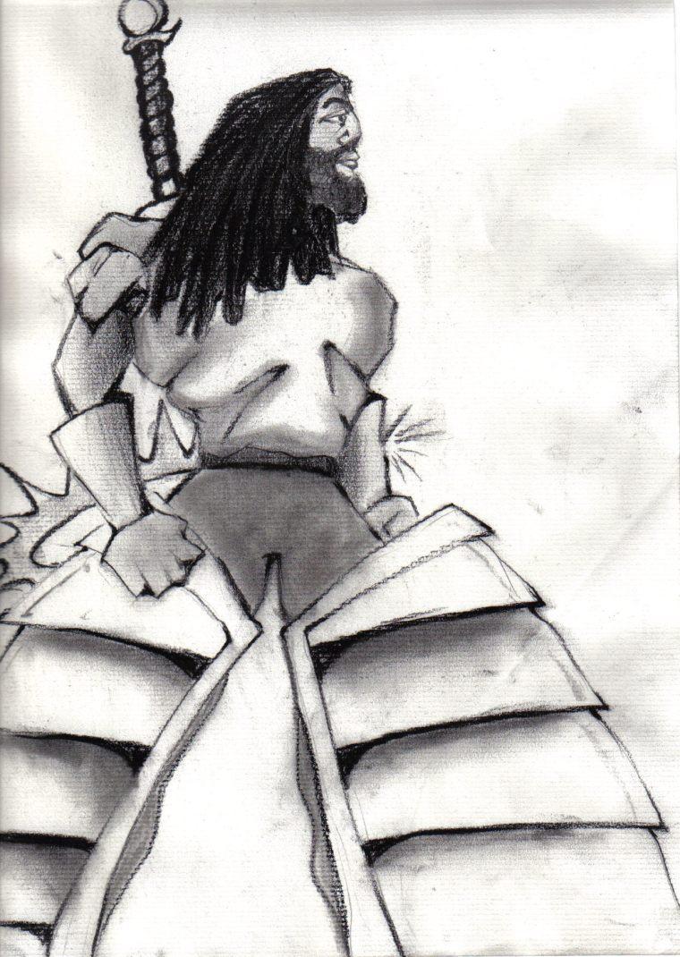 "Sharpstar; leader of the ""elinka kinlda nactrra' Avenging Knights..."