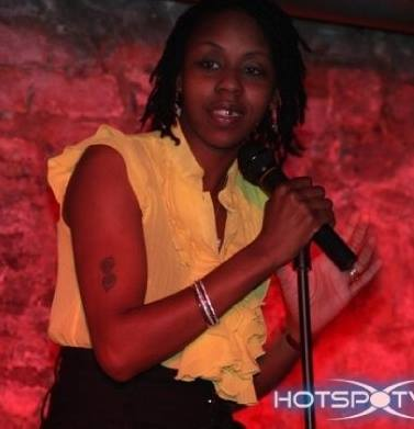 Shea Brown the poet herself!