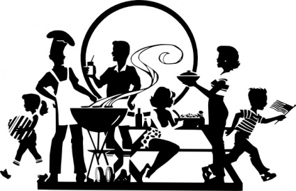 silhouette_family_barbacue_usa_patriotic_holiday-1md