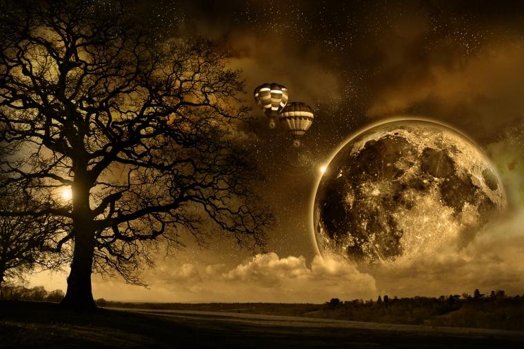 Tree-And-Moon