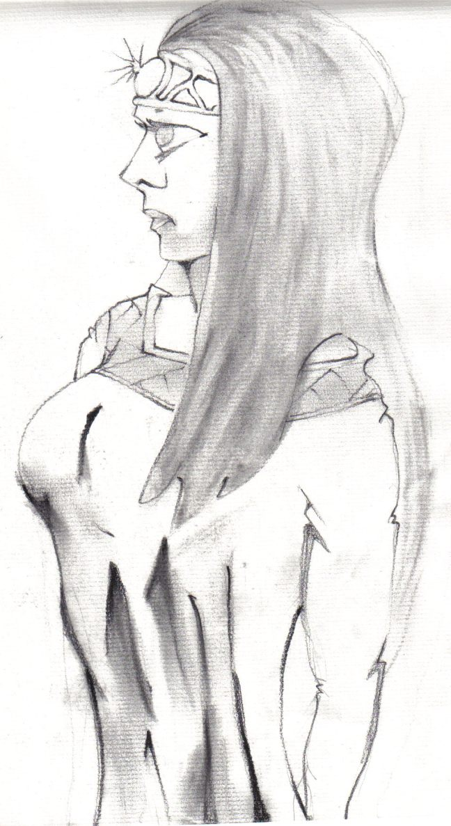 Duchess Ciera--drawn by Kevin Ray of St. Louis, MO
