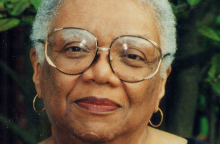 The great Lucille Clifton, photo by Gwen Phillips