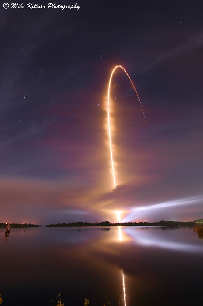 Atlas V Arc of Light